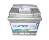 Аккумулятор ИСТА Standart 6CT 50Ah 420A R+