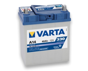 Аккумулятор Varta Blue Dynamic 6CT 40Ah 330А JR+ Asia 540125033