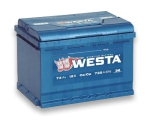 Аккумулятор WESTA 6CT 74Ah 720A L+