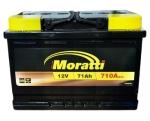 Аккумулятор MORATTI 6CT 71Ah 710A R+