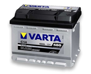 Аккумулятор Varta Black Dynamic 6CT 56Ah 480А R+ 556400048