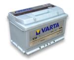 Аккумулятор Varta Silver Dynamic 6CT 74Ah 750A R+ 574402075