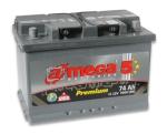 Аккумулятор A-Mega Premium 6CT 74Ah 760А R+